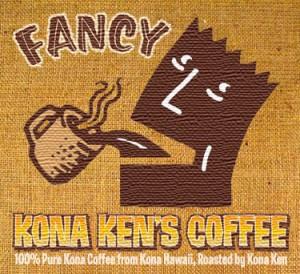 Fancy Kona Ken's Coffee