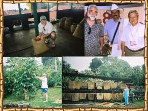 Kona Ken's coffee bean photo collage
