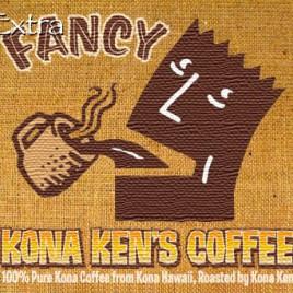 Extra Fancy Kona Ken's Coffee Beans